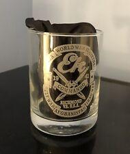 EK COMMANDO Collectible Whiskey Glass 14 Oz
