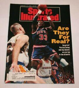 1992 Patrick Ewing Sports Illustrated Magazine NBA Basketball Nw York Knicks