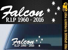 Ford FALCON rest in peace RIP Car STICKER
