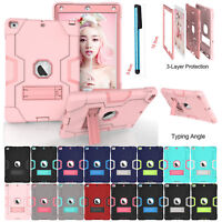 For Apple iPad 6th Gen 2018 9.7 inch Case Rugged Shockproof Hard Plastic Cover