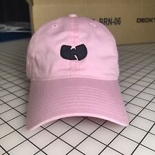 Wu-Tang Dad Hat Unstructured Baseball Cap Pink Brand New - Free Shipping