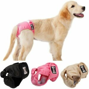 Dog Diaper Belly Band Adjustable Reusable Washable Breathable Underwear Shorts