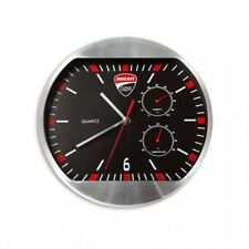 Ducati Corse Clock Wall Clock Motorcycle Motorbike Black Red 987691020