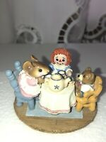 """Wee Forest Folk """"Tea For Three."""" M177. 1991. Retired. Box. DP"""