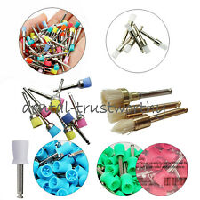 Dental Nylon Prophy Polishing Brush Colorful Nylon Latch Polisher Cups