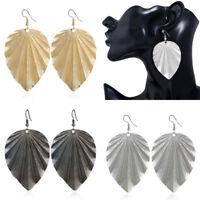 Women Lady Fashion New Dangle Drop Jewelry Hook Leaf Earrings Jewelry New