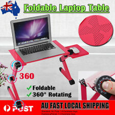 Adjustable Portable Laptop Computer Stand Desk Table W/ Mouse Tray Sofa Bed Cool