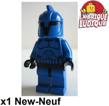 Lego Figurine Minifig Star Wars clone trooper Senate Commando bleu sw0244 NEUF