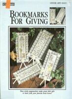 BOOKMARKS FOR GIVING - CROSS STITCH BOOKMARK LEAFLET