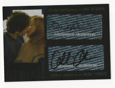 David Duchovny/Gillian Anderson The X Files I Want To Believe Autograph Card Ad1