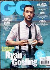 RARE New FRENCH GQ France Magazine February 2017 Ryan Gosling La La Land