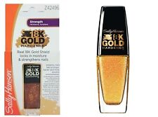 Sally Hansen 18k Gold Hardener Nail Care Treatment Z42496 10 ml NEW