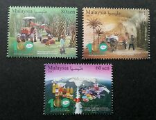 Malaysia 100th Anniv Palm Oil Industry 2017 Fruit Food Tree Bull Cart (stamp MNH
