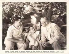 Director George Cukor Katharine Hepburn VINTAGE Photo Sylvia Scarlet set candid