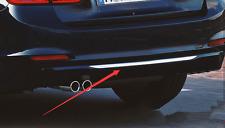 For BMW 3 Series F30 2013-2015 Steel Rear Bumper Lid Decorative Cover Trim 1pcs