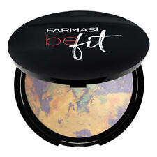 Farmasi Be Fit Cc Face Powder Color Correction Long Lasting Covers Redness