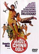 Deadly China Doll- Hong Kong Rare Kung Fu Martial Arts Action movie - New Dvd
