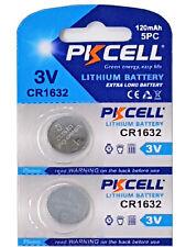 ☀️☀️☀️☀️☀️ 2 x CR1632 3V Lithium Batterie 120 mAh 1 Blistercard a 2 Batterie  PK