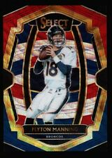PEYTON MANNING /199 $80++ MINT COLTS TRI COLOR PRIZMS #187 SP 2018 PANINI SELECT