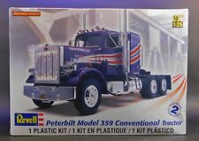 Revell Peterbilt 359 Conventional Tractor Semi Truck 1/25 Scale Model Kit 85-150