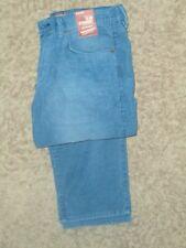 ARIZONA JEAN co. -Men's Slim Straight Corduroy Pants,  Size: 34x30 , Blue