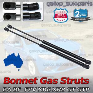 A Pair Gas Struts Bonnet for Ford Falcon BA BF 2002-2009 FPV XR6 XR8 GT FAIRLANE