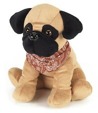 Warmies Microwave Cozy Pet Pug Pugsy Dog Microwavable Heatable Bed Time Soft Toy
