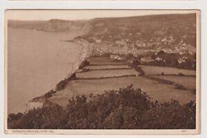 Devon Postkarte - Sidmouth Aus Salcombe Hill - P/U 1949 (A3507)