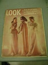 LOOK MAGAZINE OCTOBER 14 1947 SLEEP CLOTHES TEENAGER COVER DEATH JOE PALOOKA