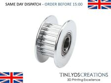 20 T 5B GT2 Idler Pulley Toothed 20 teeth 5mm Shaft Bore for 6mm wide belt Cnc