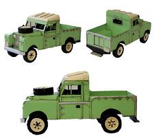 Série 1958-1961 ll land rover pickup tin plaque modèle ornement