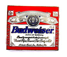 "BIER Pin / Pins - BUDWEISER ""KING OF BEERS"" [2127B]"