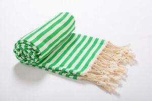 Luxury Beach Bath Spa Towel | 100% Turkish Cotton Soft Quick Dry Handmade Towel