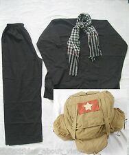Vietnam War_ Set of UNIFORMS_ RUCKSUCK _ AO BA BA, Scarf,  A SET OF UNIFORMs