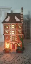 "Dept.56 Dickens Village Series #5557-3 ""Nephew Fred'S Flat"" 1991-Lighted-Mib"