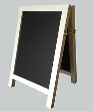 Grandi BIANCO A-Frame CHALKBOARD LAVAGNA Ideale Per Indoor & Outdoor 1000 X 700