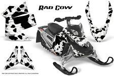 SKI-DOO REV XP SNOWMOBILE SLED GRAPHICS KIT WRAP DECALS CREATORX RAD COW WHITE