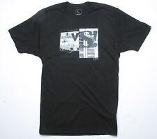 Nixon Versus Short Sleeve Tee T-Shirt (S) Black S1649542-02