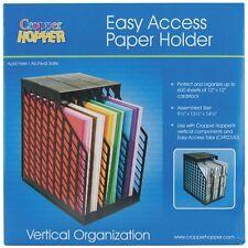 Advantus Cropper Hopper Easy Access Paper Holder - 376208