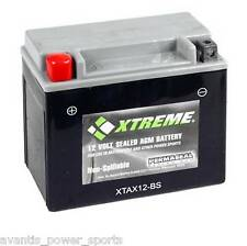 BATTERY  Xtreme AGM Permaseal XTA12-BS