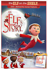 An Elfs Story (DVD, 2011) Elf on the Shelf movie Scout Elf new