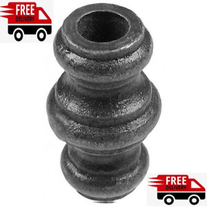 10x 20.5 hole wrought iron bushes collars gates railing security top fence steel