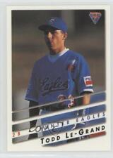 1995 Futera Australian Baseball Todd Le-Grand #19