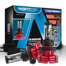 Nighteye 60W 10000LM H13/9008 LED Headlight Conversion Kit Light Bulbs 3 Colors