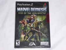 NEW Marvel Nemesis Rise of the Imperfects Playstation 2 Game SEALED PS2 marval