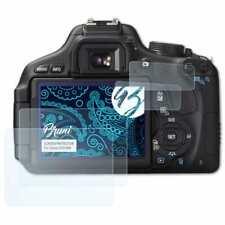 Bruni 2x Schermfolie voor Canon EOS 60D Screen Protector Displaybeveiliging