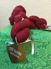 New listing Tilli Tomas Milan American Beauty Lot Of Two Skeins