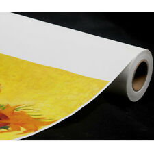"17"" x 40ft / roll,Waterproof Polyester Cotton Inkjet Printing Art Matte Canvas"