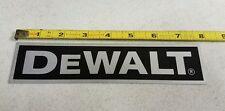 DeWalt Radial Arm Saw Arm or Frame Name Tag