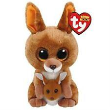 TY Kipper the Kangaroo Boo Plush New with Red Tags and Glitter Eyes